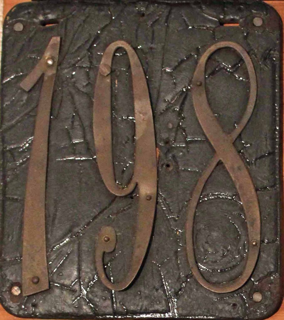 1905licenseplatenye