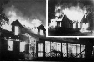 1956 Westwood fire