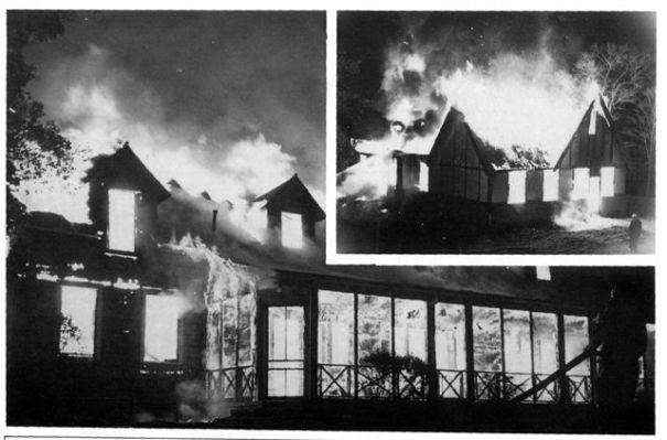 Westwood Hills Country Club Fire 1956