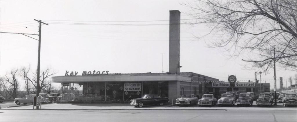 Kay Motors 1954 Panorama