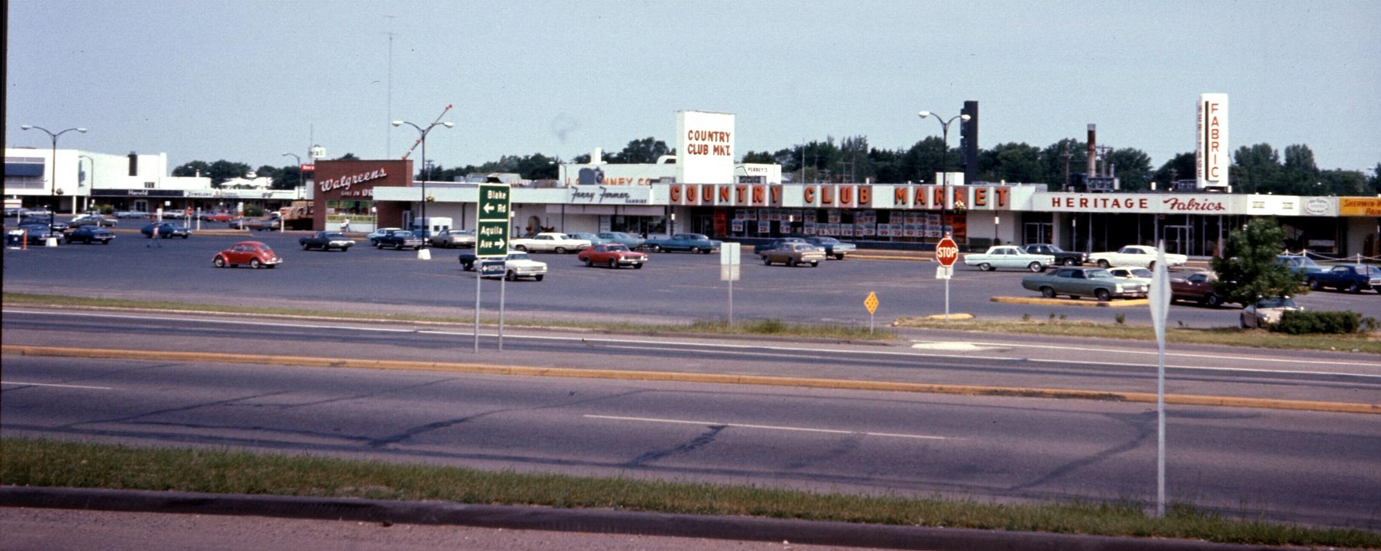 Knollwood Plaza Mall Shoppes St Louis Park Historical Society